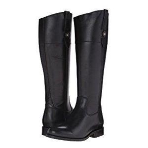 EUC Frye Jayden Button Tall Boots Black 9.5